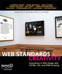 Web Standards Creativity book cover